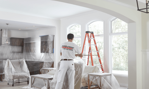 Tips for spray painting indoors