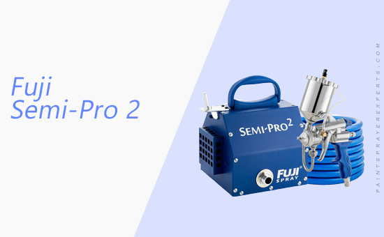 Fuji Semi-Pro 2 Gravity-Feed HLVP Spray System