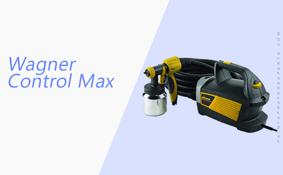 Wagner Control Max Paint Sprayer