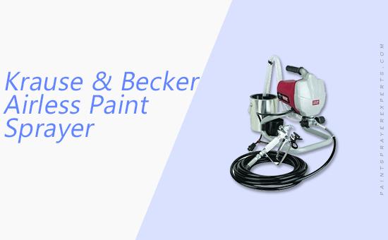 Krause & Becker Airless Paint Sprayer